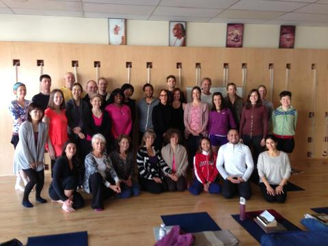 My Fellow Yogis & Me!